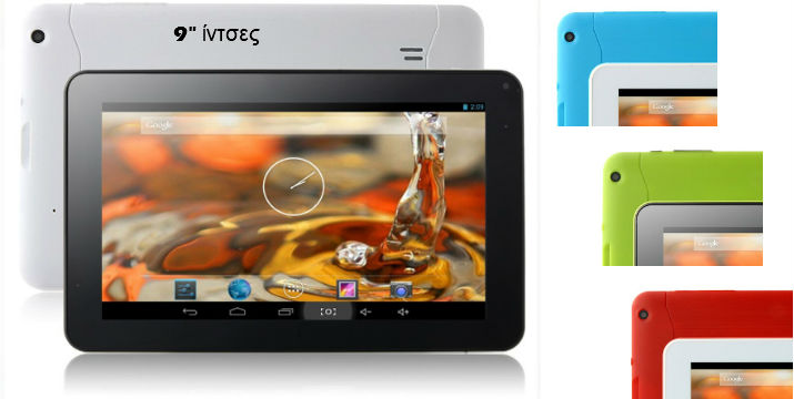 Dual Core 1.2GHz 9 Inch Android 4.2 Tablet, ΜΟΝΟ 69,90€ !!!  με το προηγμένο λειτουργικό σύστημα Android 4.2 και τον επεξεργαστή ATM7021 Dual Core 1.2GHz Cortex A9 CPU και PowerVR SGX540 επεξεργαστή GPU. IPPO P706C Dual Core Tablet έχει ανάλυση 800 x 480, 9 ιντσών οθόνη, σας επιτρέπουν να απολαύσετε τα βίντεο υψηλής ευκρίνειας και τις ταινίες σας. Πανελλαδική αποστολή!!!