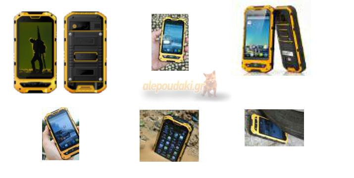 Rugged NFC Android smartphone X6 - με 2 SIM, IPS οθόνη αφής 4.0, αδιάβροχο, ανθεκτικό σε χτυπήματα & σκόνη, με πιστοποίηση IP68 !!!