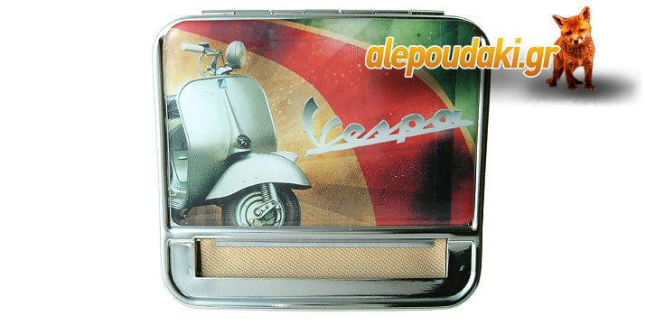 Μία κασετίνα για αποθήκευση καπνού και στρίψιμο τσιγάρου με ύφασμα για καλύτερο στρίψιμο του τσιγάρου!!! Ένα όμορφο και χρήσιμο αξεσουάρ, για καπνιστές !!!