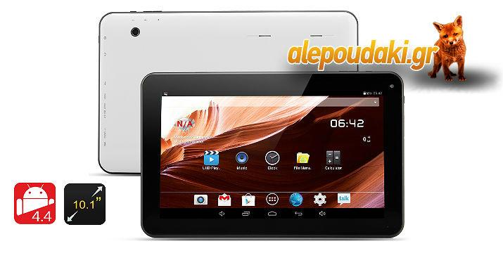 Μόλις 119€ !!! 10,1 ιντσών Android 4.4 Tablet Siberian ΙΙ - A23 Cortex A7 Dual Core CPU, 10 Σημείων οθόνη αφής, 8GB μνήμης. Αρχική τιμή 145€. Το tablet PC Siberian ΙΙ επιτρέπει στο χρήστη να έχει πλήρη παραμετροποίηση και τον έλεγχο των ρυθμίσεων, τα προφίλ και lay-outs, χάρη στην τελευταία λειτουργικό σύστημα Android 4.4 KitKat. Μπορείτε να δημιουργήσετε ένα περιβάλλον που είναι πρακτικό για σας και τις ανάγκες σας, δεδομένου ότι έρχεται με το Google Play store προ-εγκατεστημένο. ΜΕ ΠΑΝΕΛΛΑΔΙΚΗ ΑΠΟΣΤΟΛΗ ΣΤΟ ΧΩΡΟ ΣΑΣ.