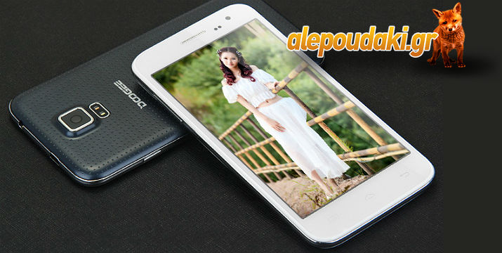 DOOGEE DG310 Android 4.4 3G Phablet 5.0 inch WVGA IPS Screen MTK6582 Quad Core 1.3GHz 1GB RAM 8GB ROM WiFi GPS OTG Dual Cameras.