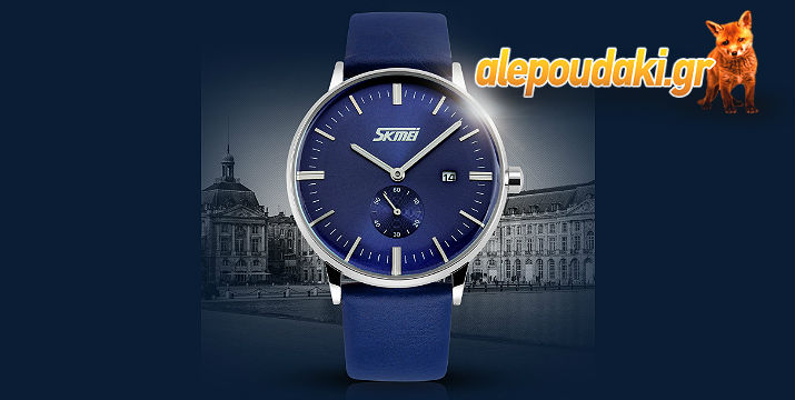 Ανδρικό Κλασσικό Business ρολόι Αδιάβροχο e35f06ef54c