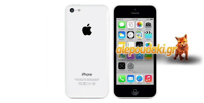 APPLE IPHONE 5C 8GB EU, σε 4 απίθανους χρωματισμούς,  Άσπρο, Μπλέ, Ροζ, Πράσινο και Κίτρινο !!!