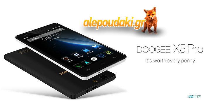 5.0 inch DOOGEE X5 Pro Android 5.1 4G Smartphone MTK6735 64bit Quad Core 16GB ROM OTG OTA Bluetooth 4.0