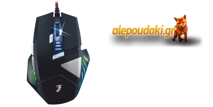 POWERTECH  Gaming  Mouse με 8 buttons και  2500 dpi !!