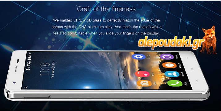 Oukitel K6000 Pro Android 6.0 4G Phablet 6000mAh Battery 5.5 inch 2.5D Arc Dragontrail Glass Screen MTK6753 64bit Octa Core 3GB RAM 32GB ROM Press Fingerprint Sensor 13MP Camera