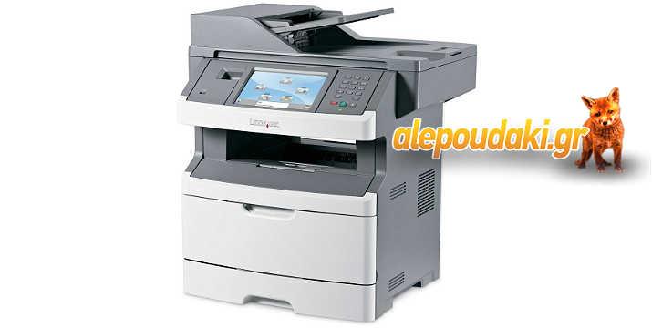 LEXMARK used Printer X463DE, Laser, Mono, extra tray, toner 25-90%,  Εκτυπωτής  Used με ταξινόμηση Grade A !!!