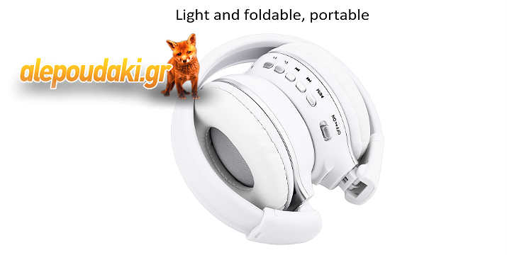 B-570, LED Display Screen Wireless Stereo Bluetooth V4.0 Headphones with FM Radio TF Card Slot