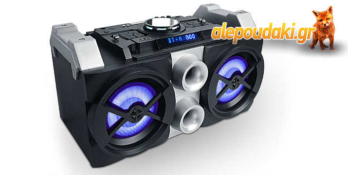 AKAI HT016A-88 ΦΟΡΗΤΟ ΗΧΕΙΟ BLUETOOTH DJ MIXER SYSTEM – KARAOKE 50W