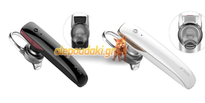 GOLF Bluetooth Headset B5 Black & White