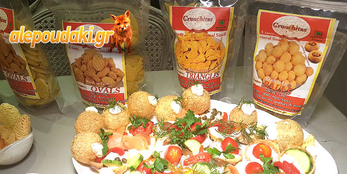 CRUNCHITAS Natural Taste!!! ΤΑ ΦΡΕΣΚΑ ΣΝΑΚ ΔΗΜΗΤΡΙΑΚΩΝ. Ήρθαν για να σας ξετρελάνουν σε 3 διαφορετικά σχήματα και γεύσεις... !!! Δοκιμάστε τα !!!!