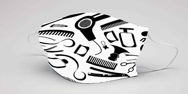 Μάσκα προστασίας προσώπου υφασμάτινη πολλαπλών χρήσεων, με φωτογραφία ή λογότυπο, full print (10 τεμ. min)  (p.153)